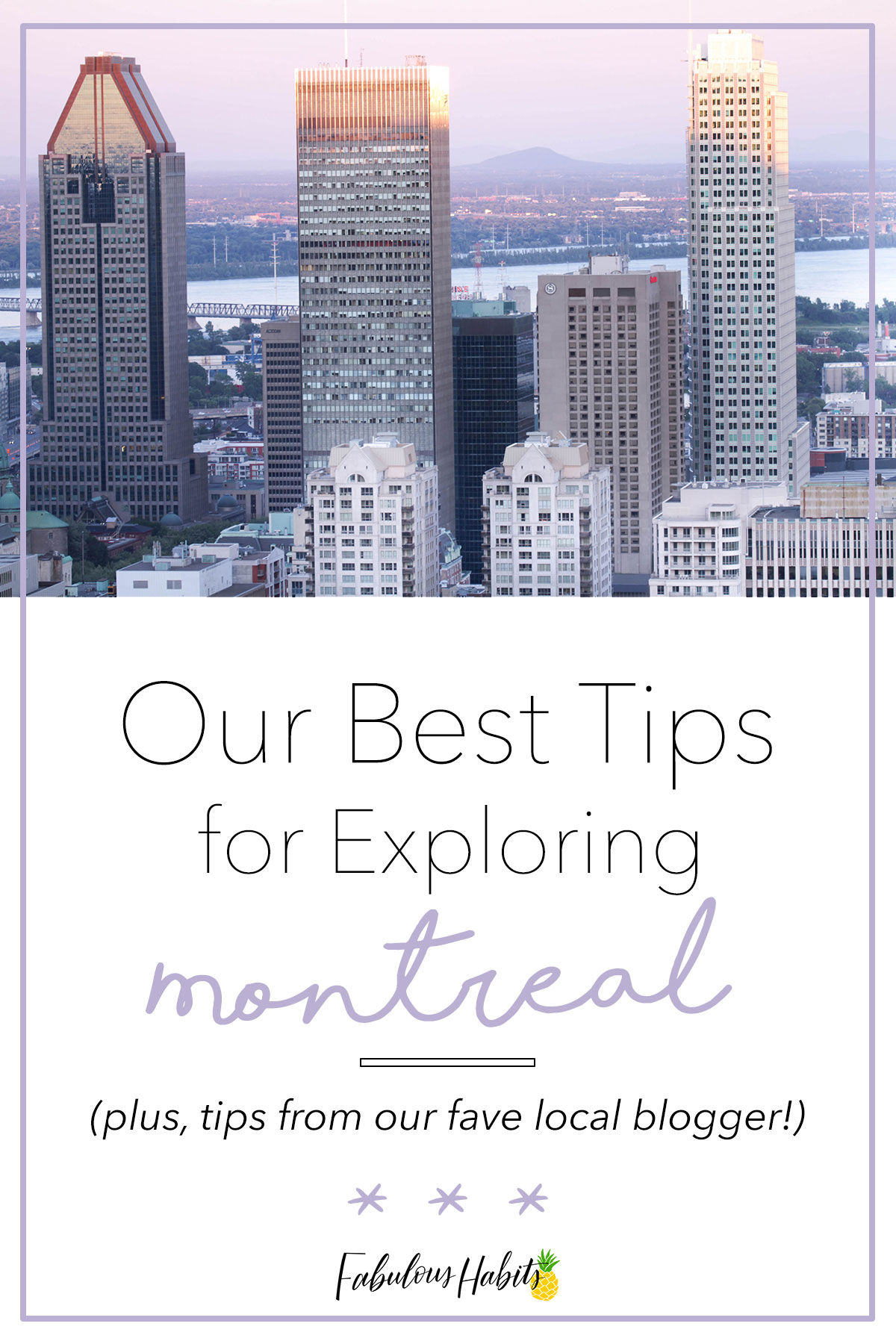 Partnered up with my fave mama blogger and we're sharing our best tips on exploring Montreal - even with the kiddos! #montreal