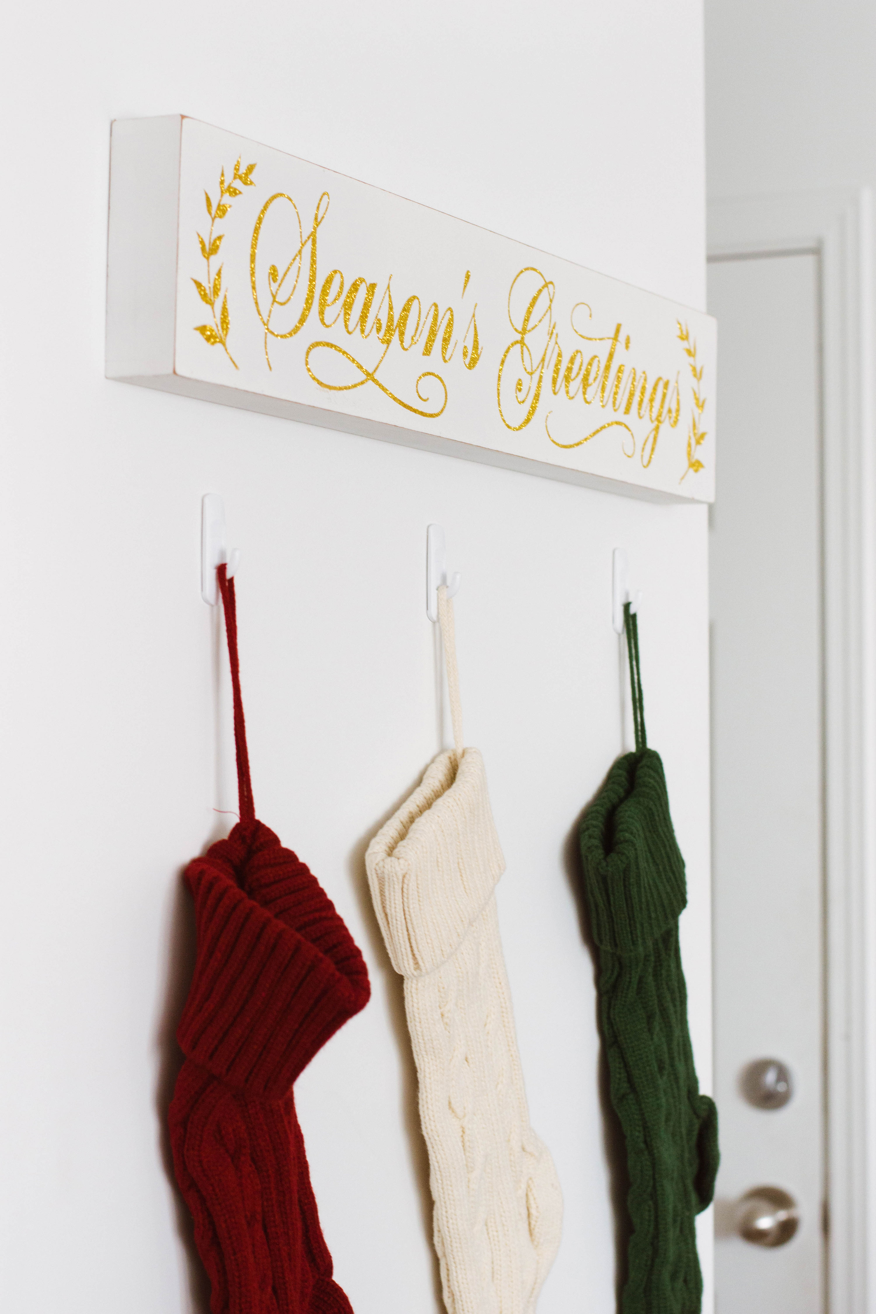 Holiday decor totally inspired by Harry Potter!