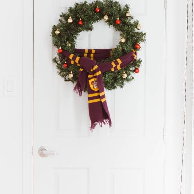 Christmas Reveal: Our Holiday Decor Inspired by Harry Potter