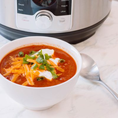 Winter Recipes: Keeping Warm with my Instant Pot Chili
