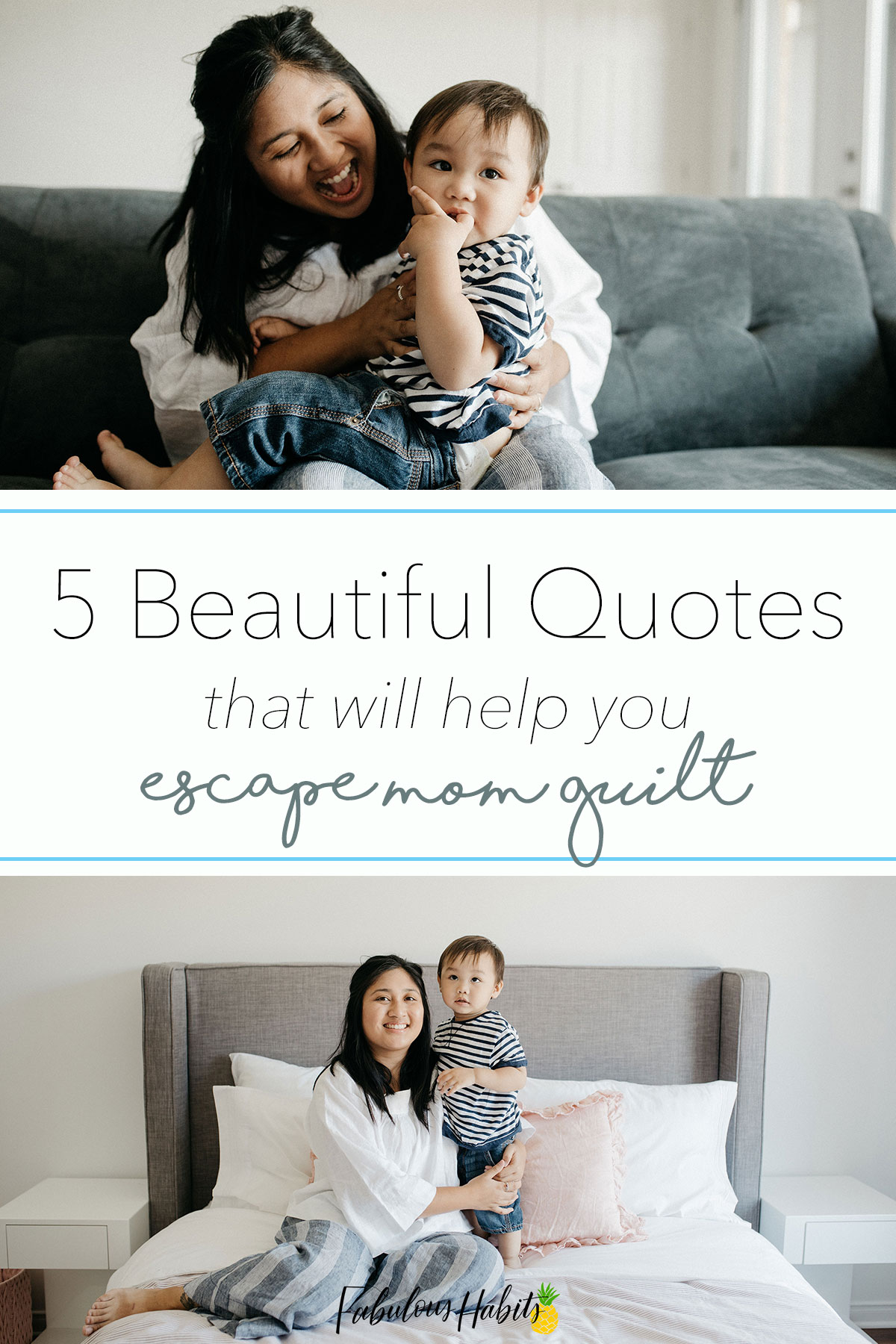 The feeling of mom guilt is draining. Here are some inspirational quotes to keep you lifted and worthy! #supportingmoms