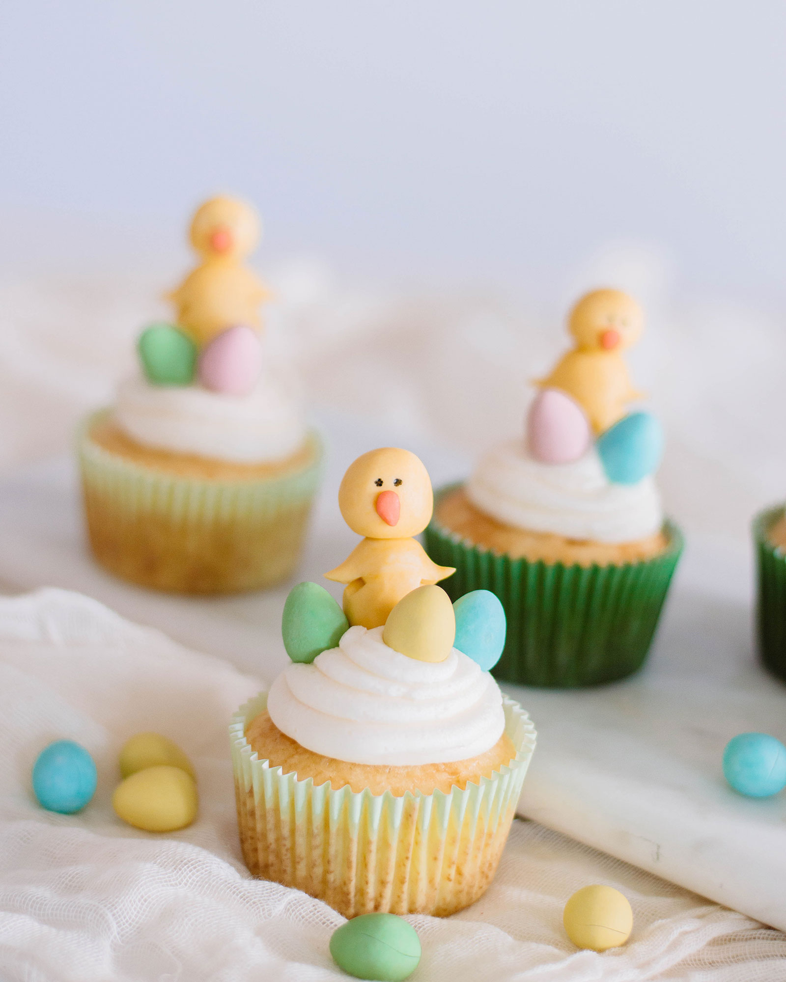 The Cutest Easter Dessert: Spring Chick Cupcakes
