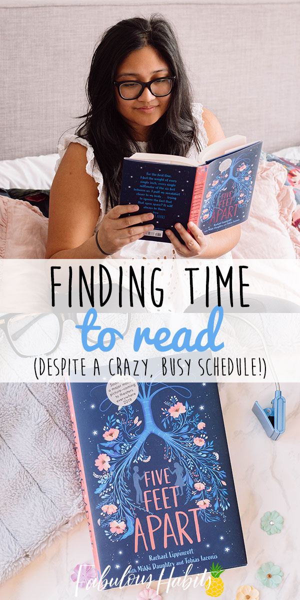 Crazy schedule but wanting to find more time to read? These are my surefire tips in finding ways to read more often! #readinglist