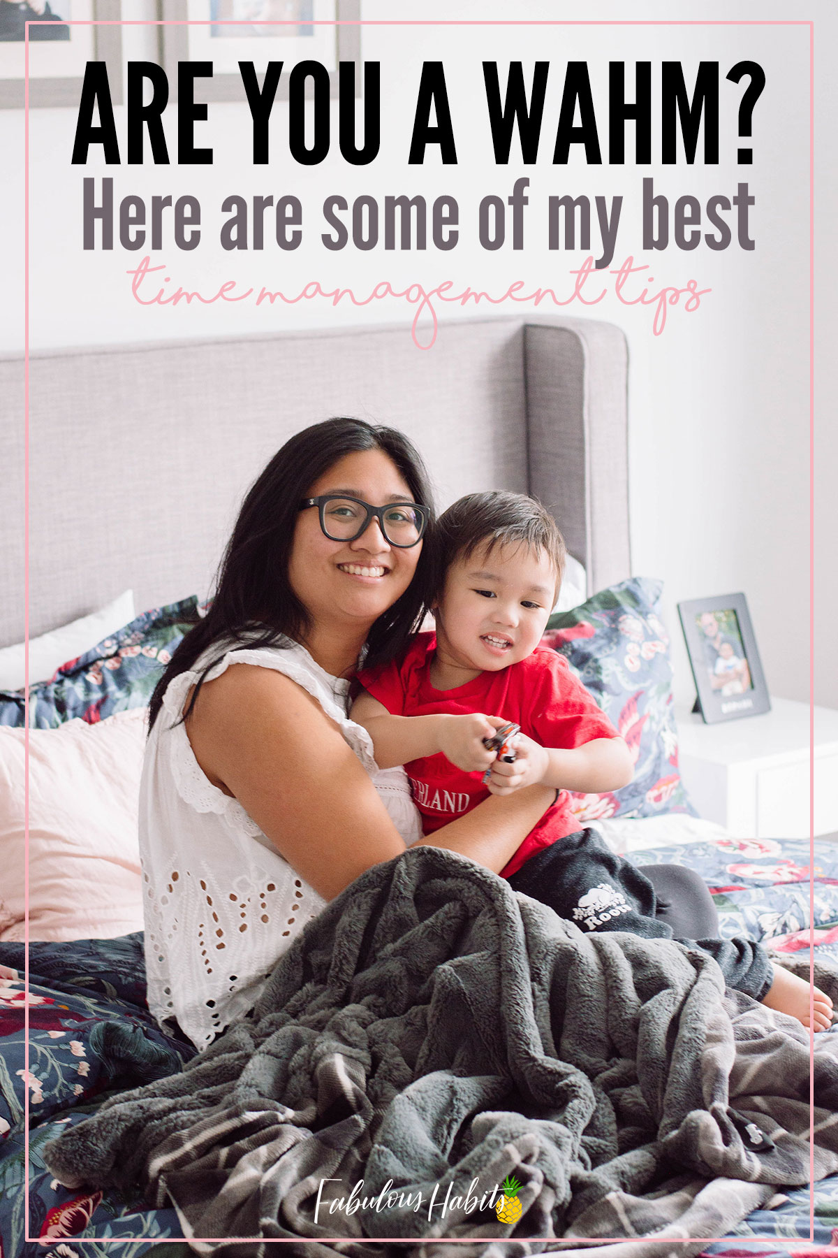 Are you a WAHM? Time management is key for making sure everything on your to-do list gets crossed off. I'm here to share my best time management tips - perfect for any busy parent! #WAHM