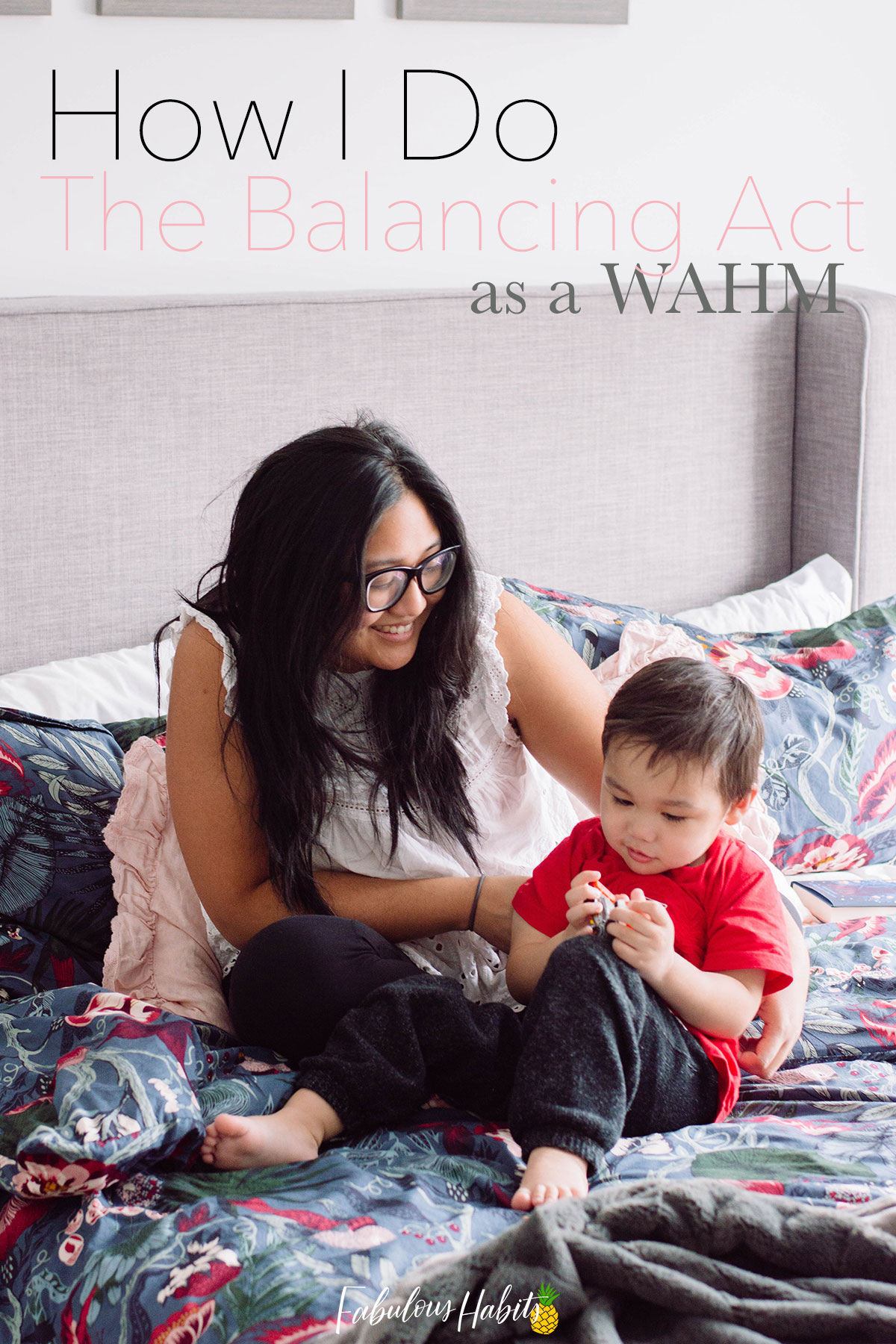 Today, I've gathered some of my best time management tips as an experienced WAHM. Balancing it all is totally possible! #parentingtips