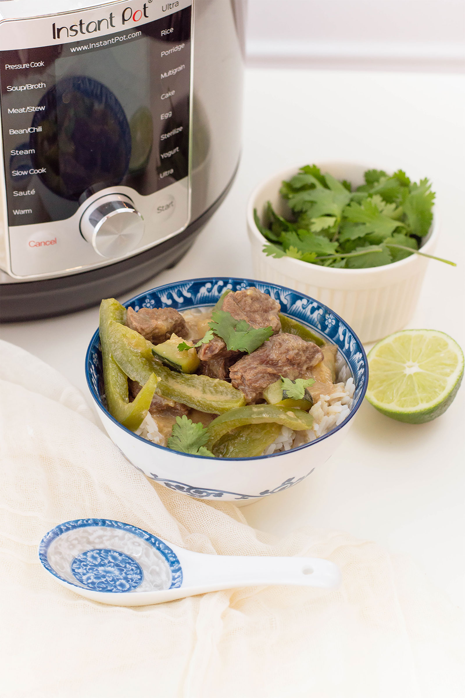 Instant Pot Thai Green Curry Beef
