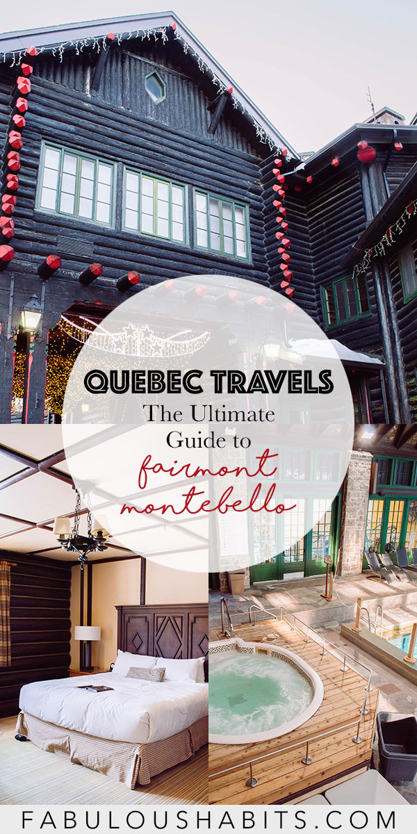 Planning a family trip to the province of Quebec? Then you gotta check out Fairmont Montebello - and we put together this family-friendly travel guide for your visit to their beautiful resort! #fairmonthotels