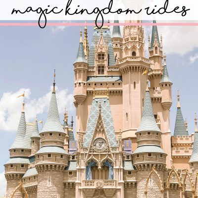 Our Favourite Magic Kingdom Toddler Rides