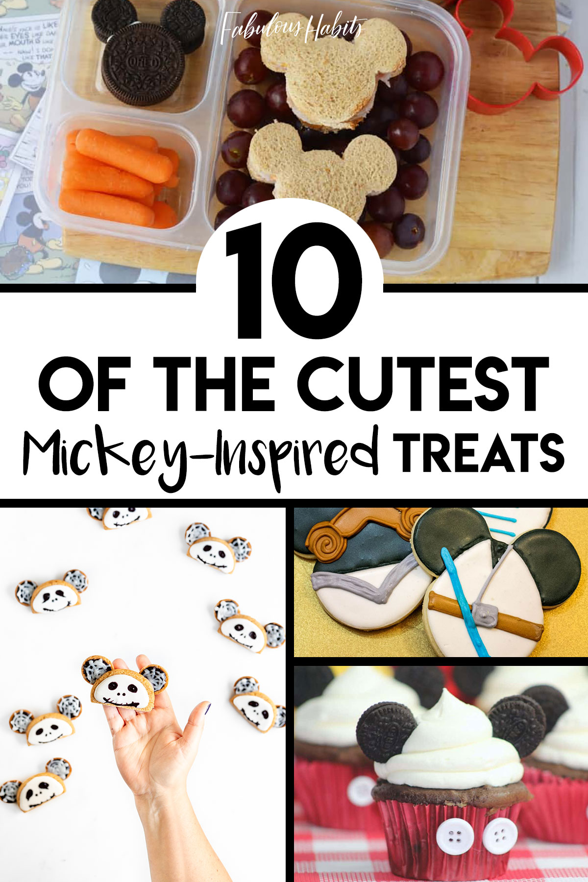 Who wants Mickey-inspired treats?! You do?! Well, you've come to the right place. We have a top 10 list of the cutest Mickey-shaped foods out there. #DisneyRecipes