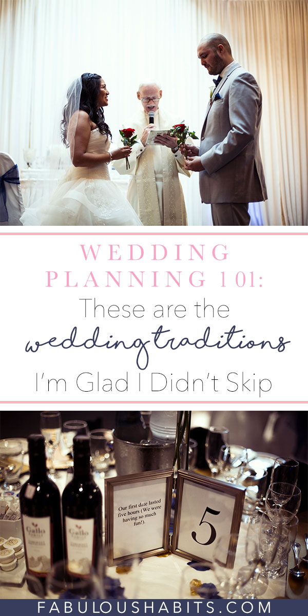 Here are the top 5 wedding traditions that I think are vital for every wedding. Remember, this is your special day - enjoy it to the max and try to incorporate some of these fun, classic traditions. They stand the test of time for a reason!
