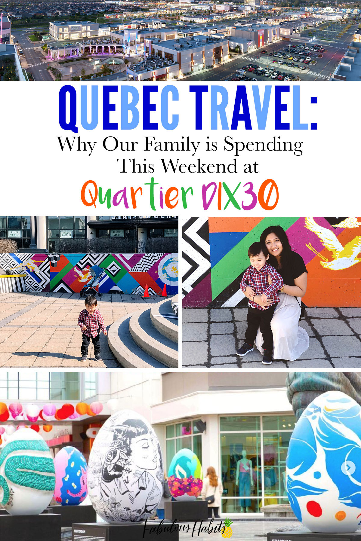 Quartier Dix30 is a large lifestyle/shopping center in the Greater Montreal Area and this is how we spend our weekends there!