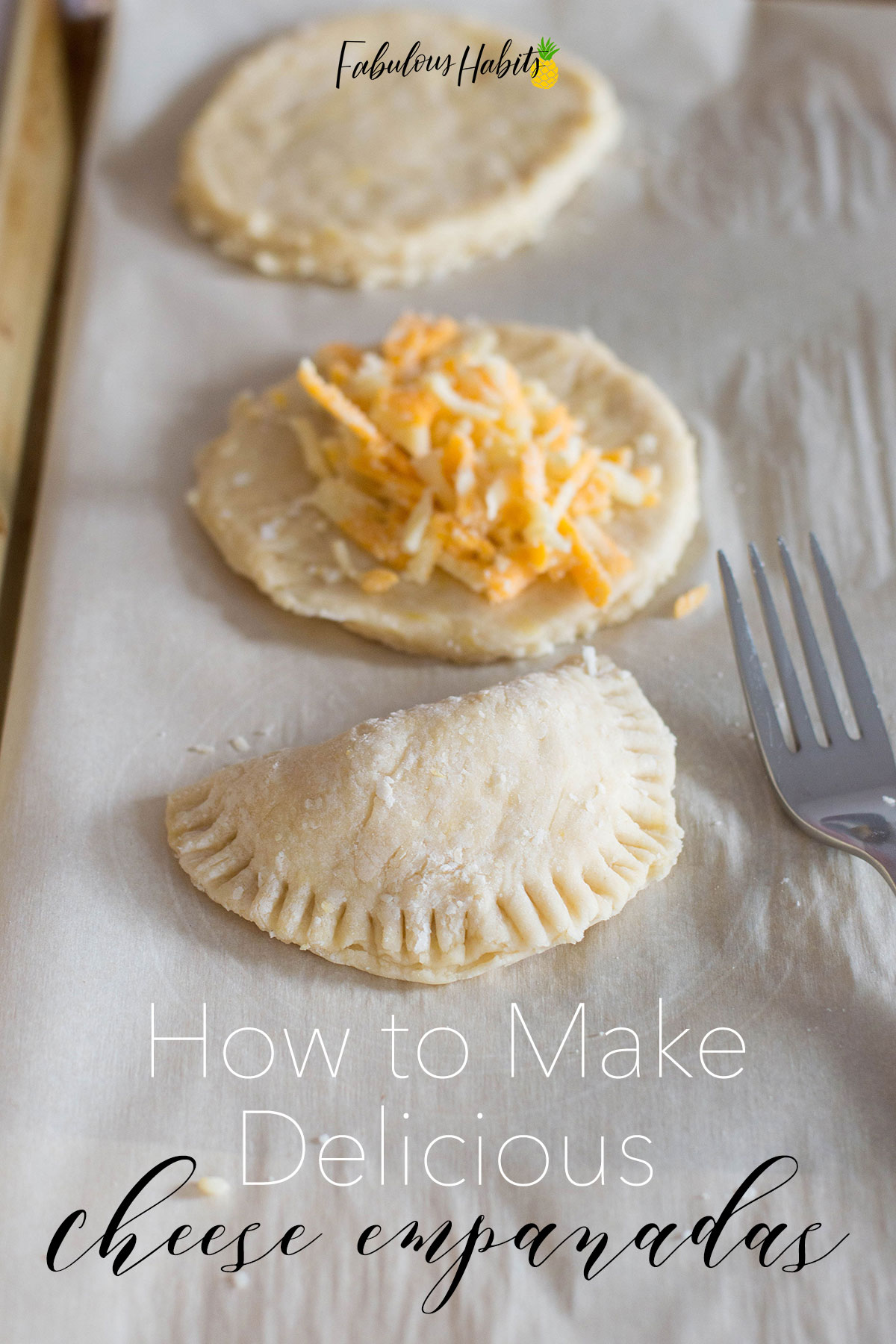 Delicious cheese empanadas and our step-by-step instructions on how to make them. Super easy and super tasty! #homemadeempanadas