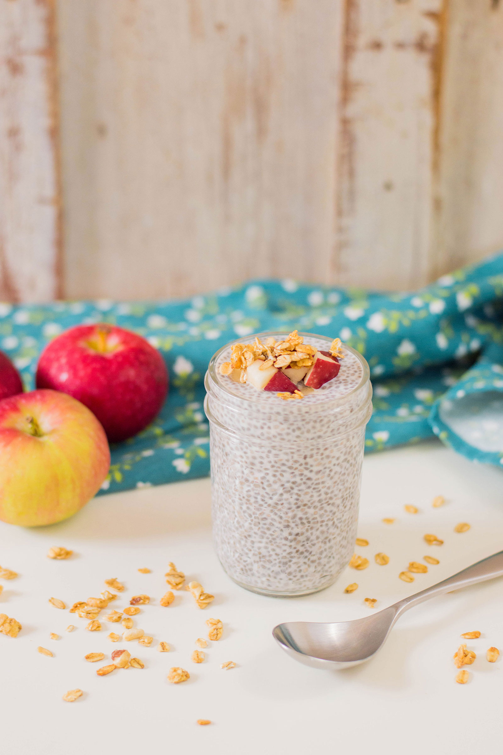 Apple Cinnamon Chia Pudding