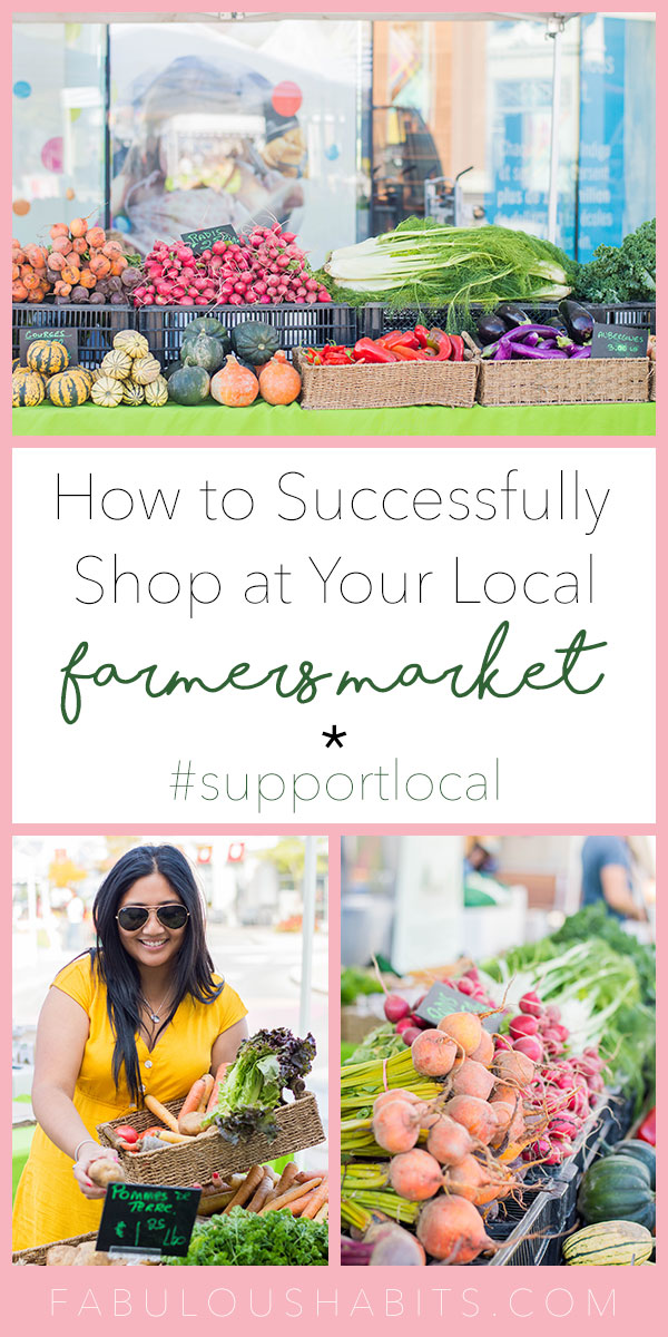 Our family's all about supporting local farmers. Here's how we successfully navigate our local farmers market - tips and tricks on how to have the time of your life at the market! #farmersmarket