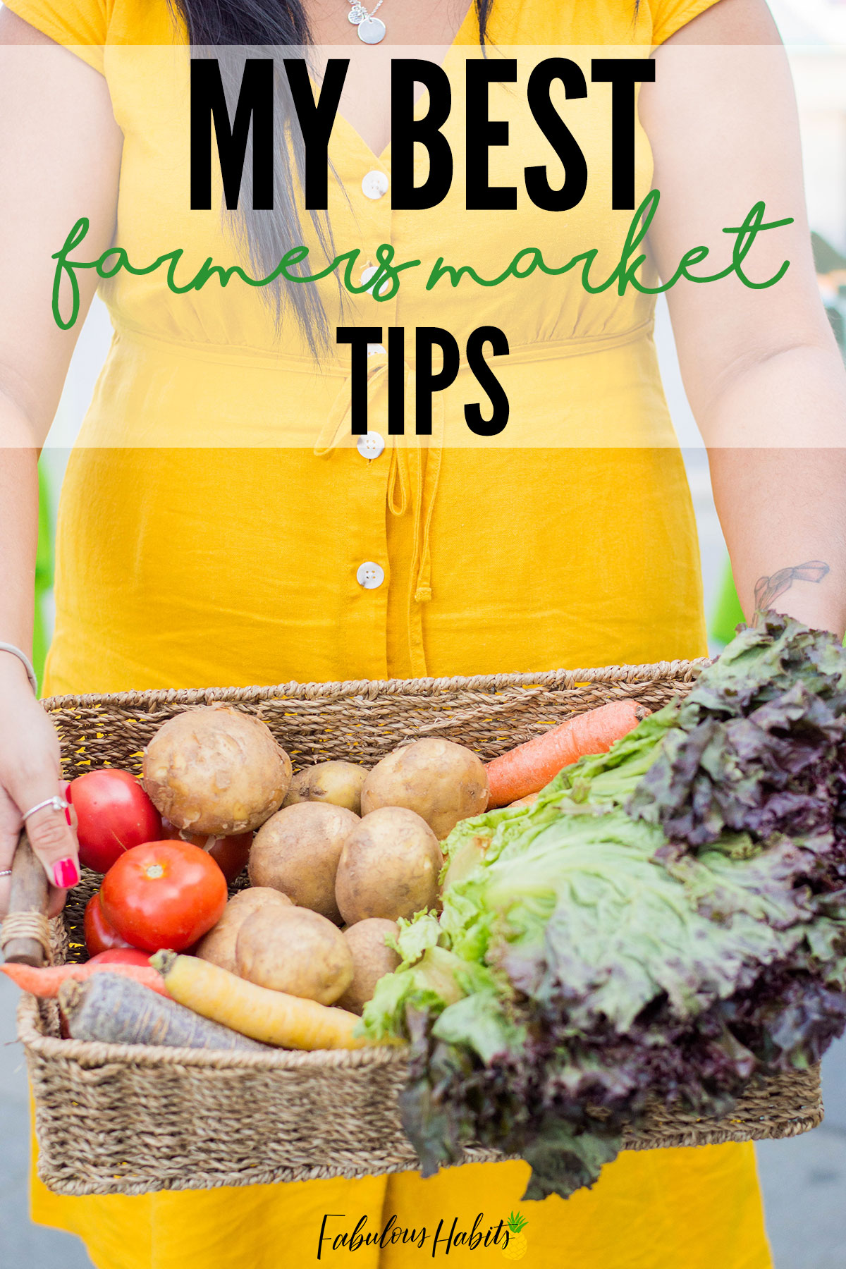 I've rounded up all of my best farmers market shopping tips - so that you can navigate your local market with ease. Everyone always loves a trip to the farmers market! (My husband included - wow!) #farmersmarket #eatlocal