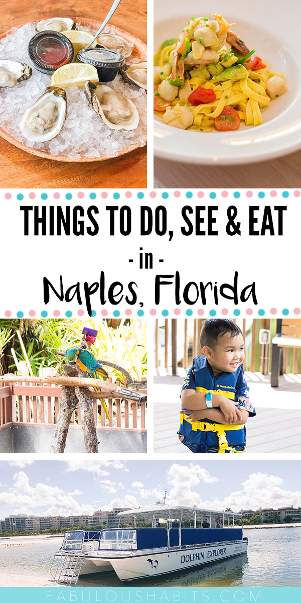 So, you've booked your trip to Naples, Florida and you're not sure what to expect? Here's my list of things to do, see and eat in Florida's Paradise Coast! #naplesflorida #floridavacation