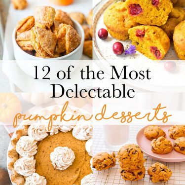 It's pumpkin season! Today, I rounded up some of the best pumpkin desserts out there - and they're waiting to be baked. So grab your aprons, reach for a whisk... we've got some baking to do! #pumpkindesserts