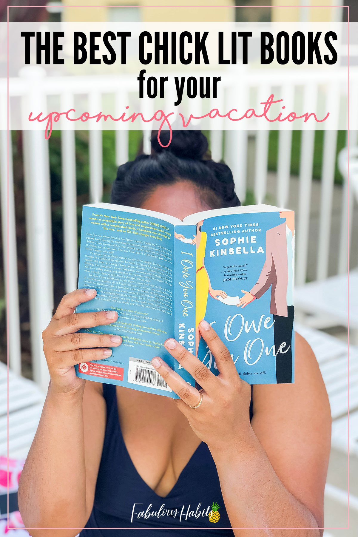 Planning your next vacation? Well, that means you should be planning your next beach reads, too! Today, I'm rounding up the best chick lit books that I've ever come across. #readinglist