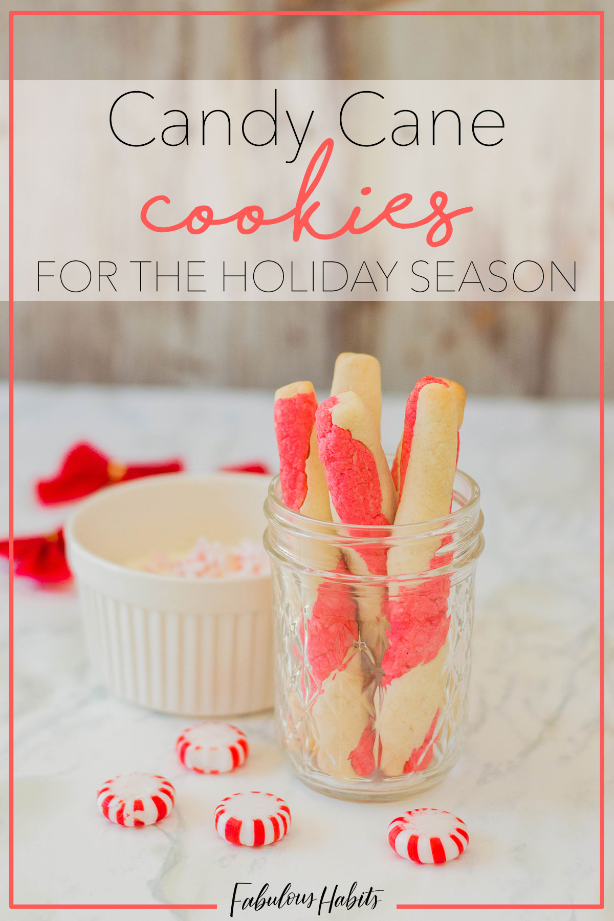 Struggling on deciding which cookies to make this year? These Candy Cane Cookies will surely catch everyone's attention at your upcoming Christmas party. #christmascookies