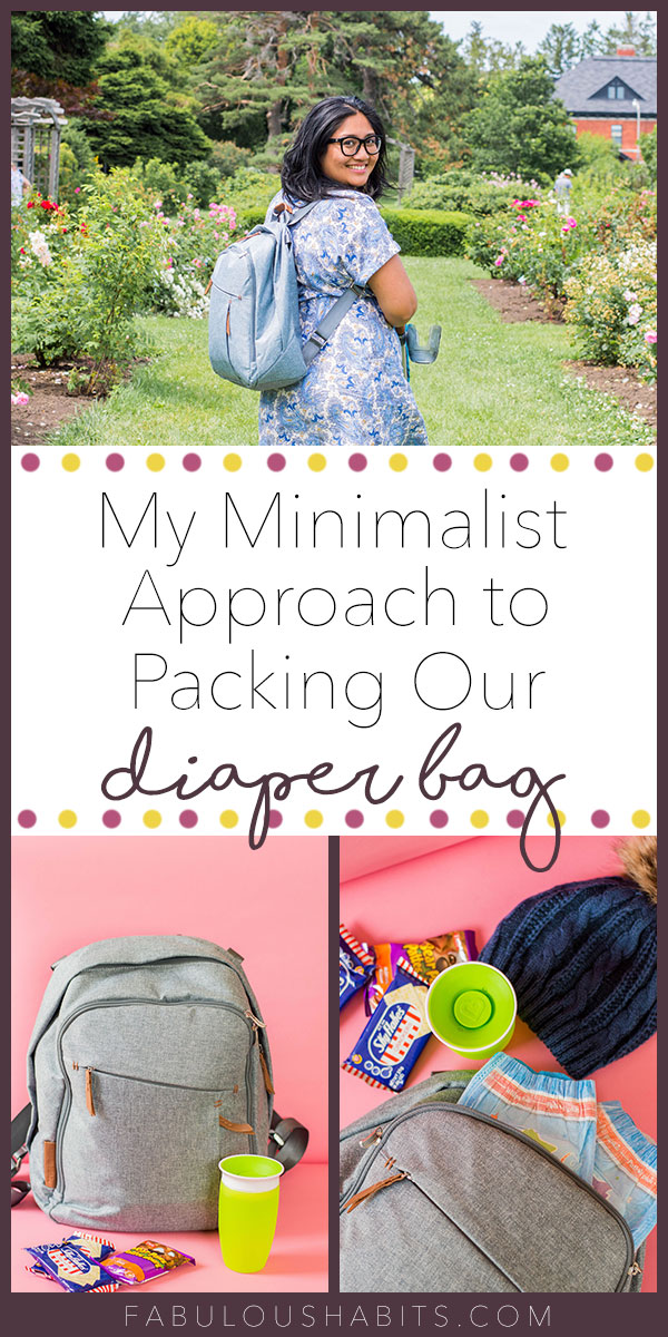 Our list isn't too sophisticated, but it definitely highlights all of the diaper bag essentials. Never leave home without these key items in your toddler's diaper bag! #diaperbag #whattopackinadiaperbag
