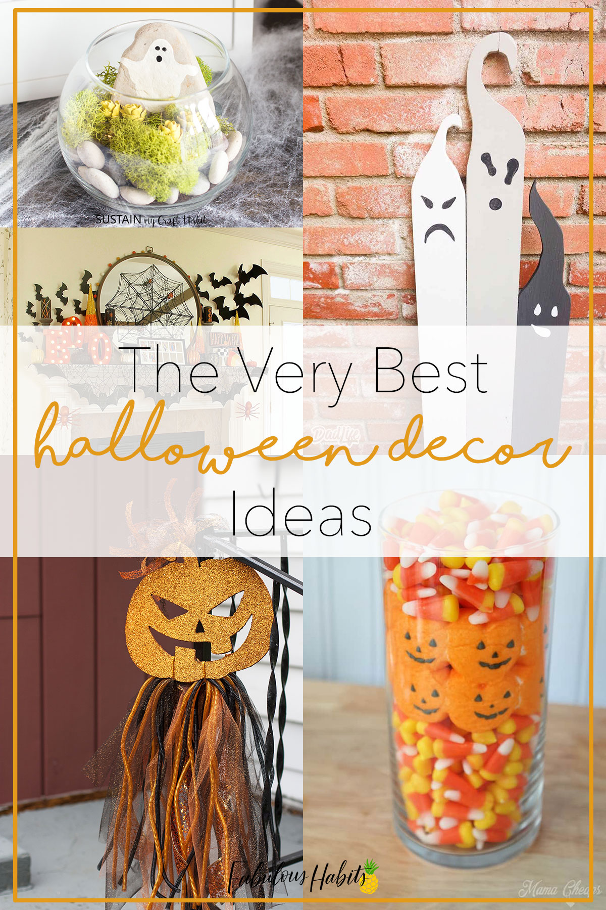 Impress those trick or treaters with these amazing Halloween decoration ideas! Time to get your spook on! #halloweendecor