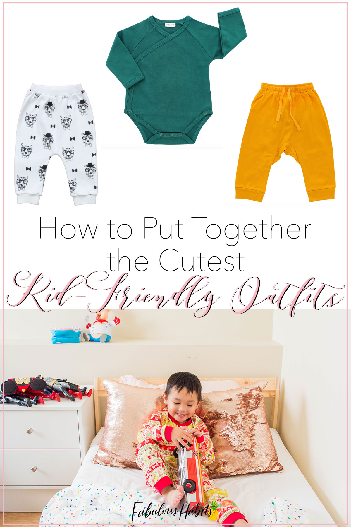 Need some help for gift ideas for your little one? In this gift guide, I'm highlighting all the ways you can build the cutest baby outfits with fashionable pieces that make great gifts! #holidaygiftguide