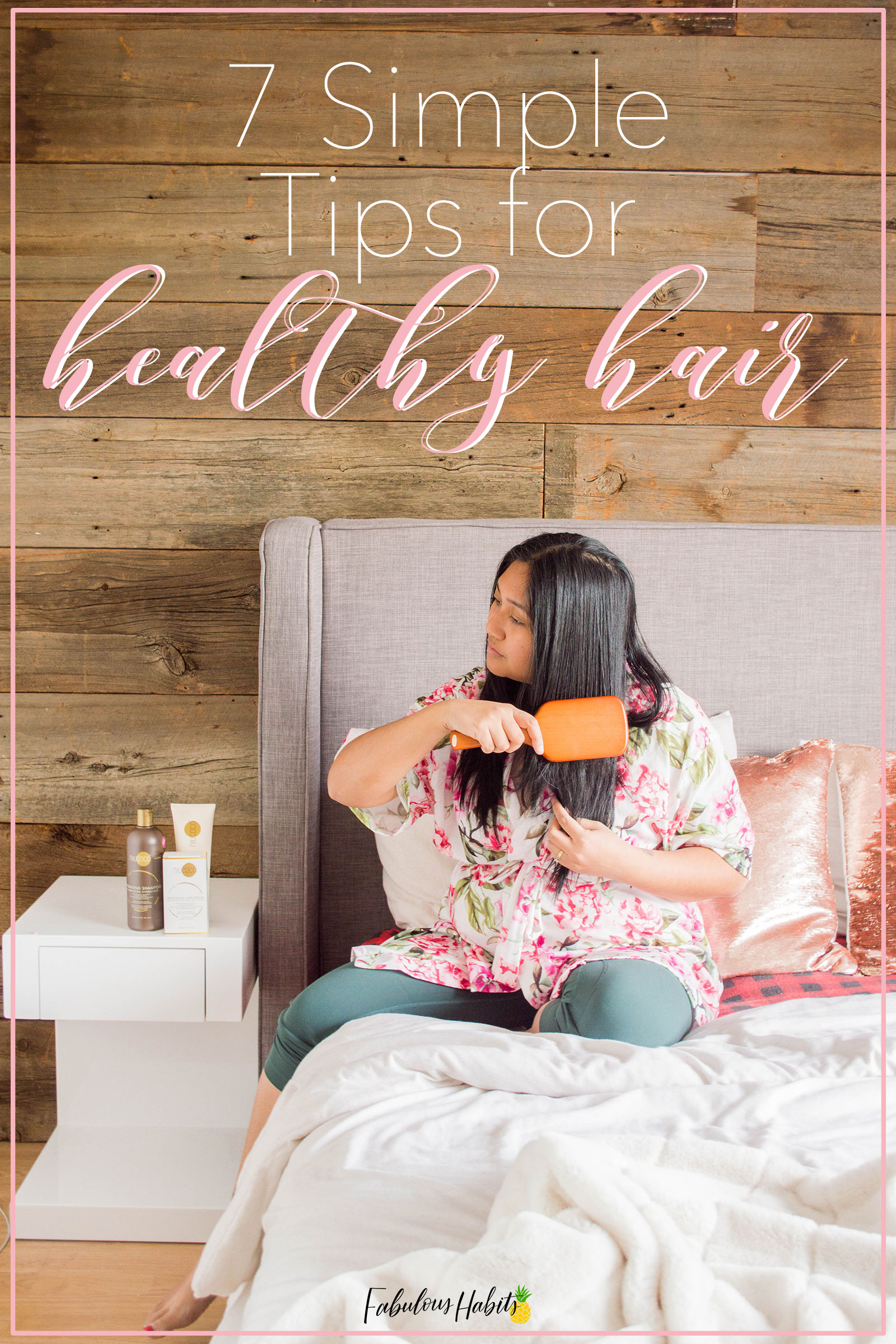 My simple tips on healthy hair maintenance are simple yet effective. Check out the steps that I took to achieve healthy hair post pregnancy. #healthyhairtips
