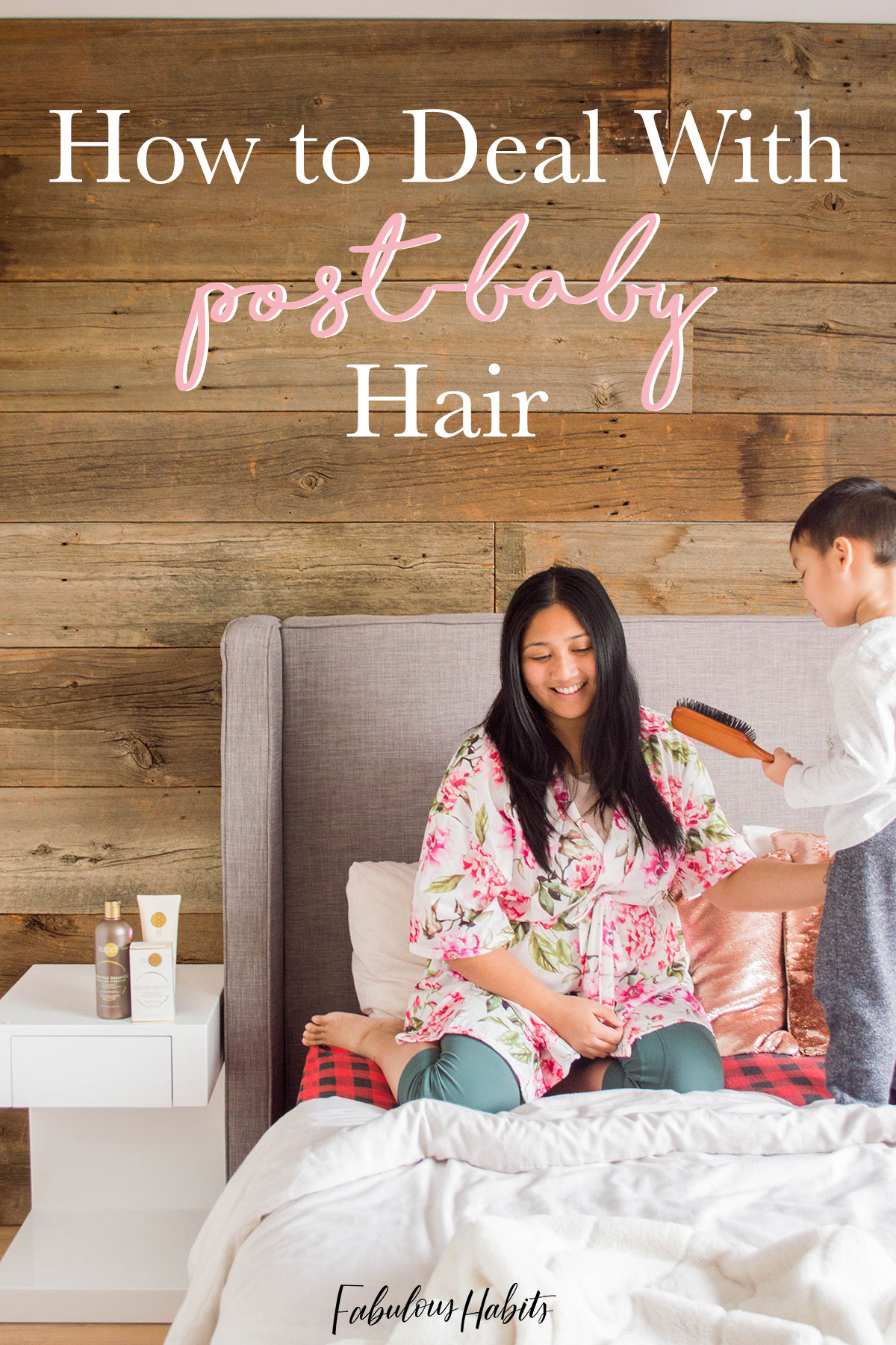 My hair changed drastically after giving birth - here are my foolproof tips in maintaining healthy hair, even after having a baby! #healthyhair