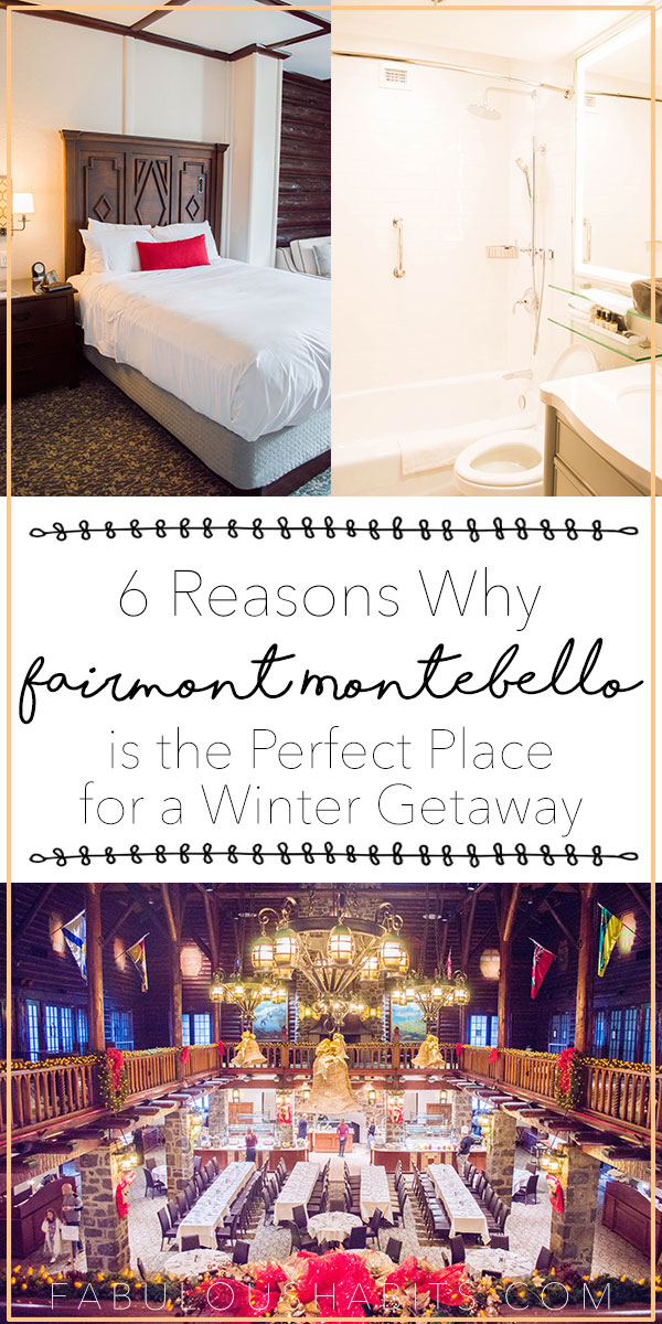 6 reasons why Fairmont le Château Montebello is the perfect place for your family's winter getaway.