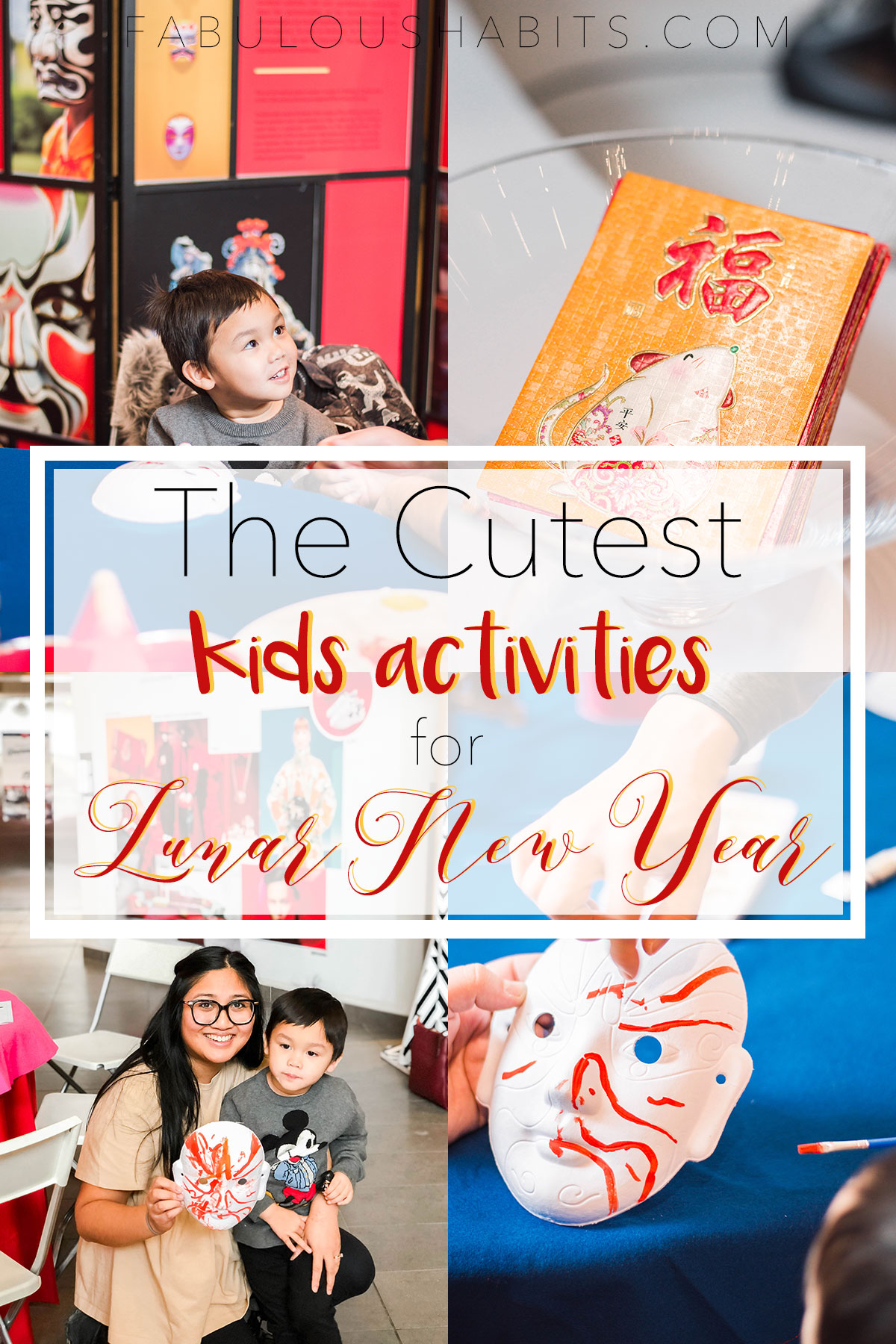 Celebrating Lunar New Year is tons of fun for the entire family. Check out these kid-friendly activities to celebrate the beautiful festivities. #lunarnewyear