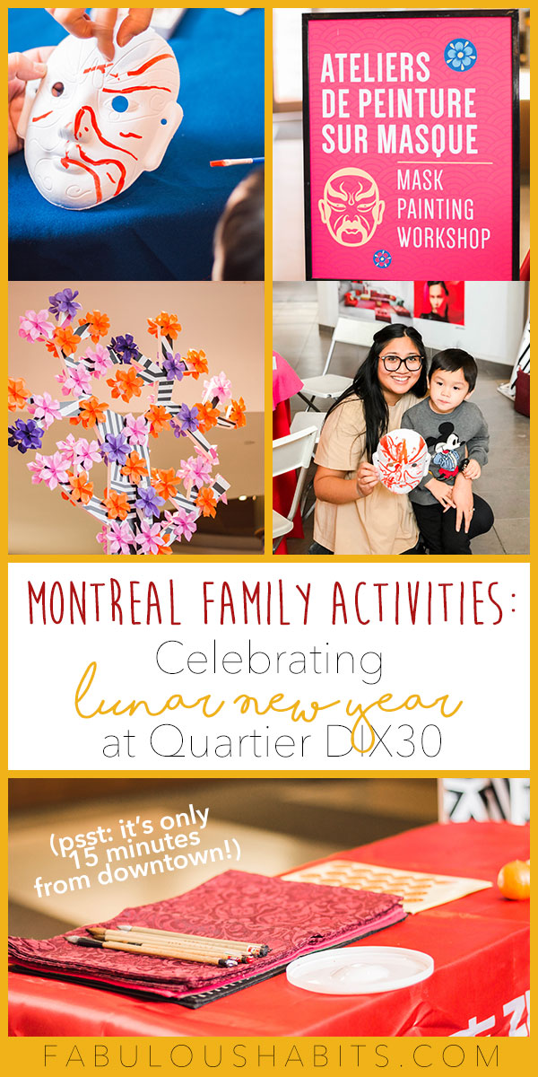 Create Lunar New Year memories with your family. Just 15 mnutes from Montreal in Quartier DIX30, Canada's largest lifestyle centre will be hosting a number of family-friendly activities for Lunar New Year #lunarnewyear
