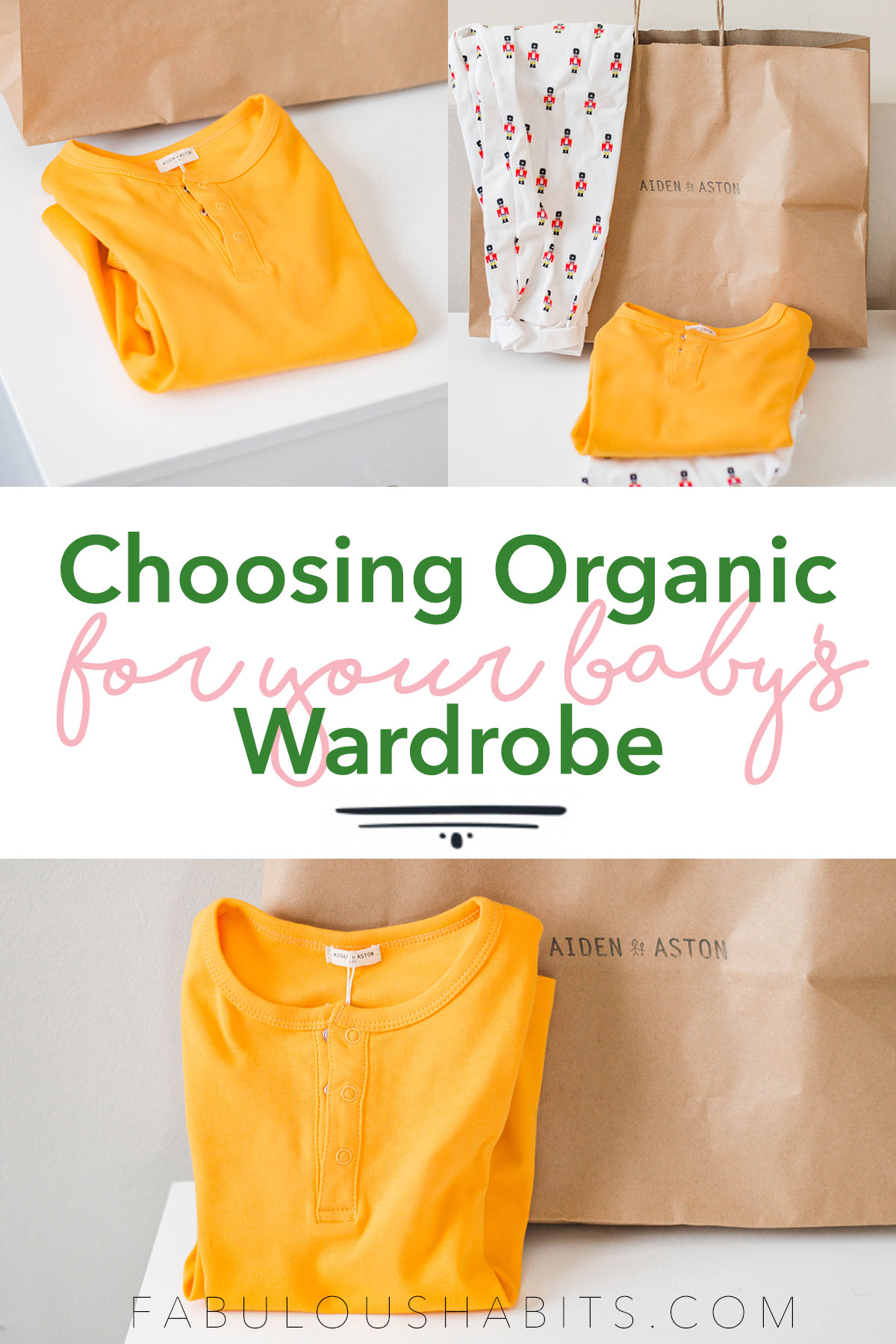 Today, we are outlining the benefits of choosing organic for your baby's clothes. There are so many reasons why organic cotton is so much better than its traditional counterpart (softer, more durable, etc.)