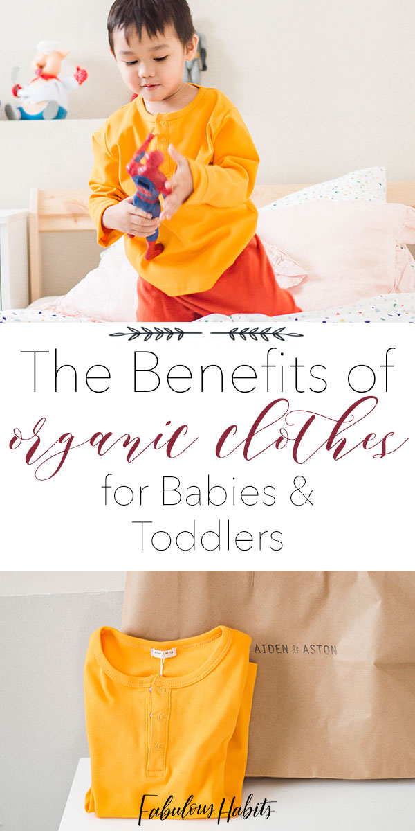 Today, we're outlining the benefits of organic clothes for babies and toddlers. Softer, more durable... these are a few of the many reasons why wearing organic is the way to go!