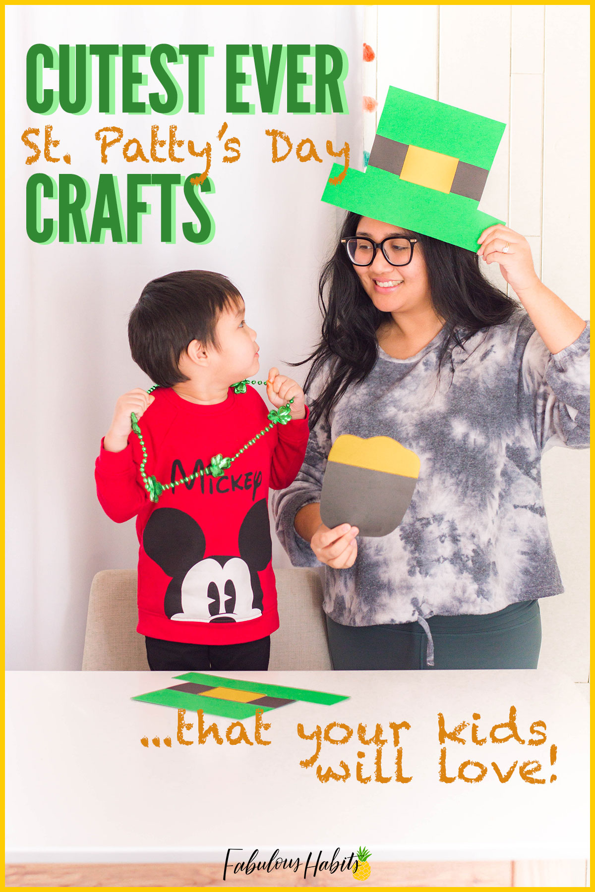 I found some of the cutest St. Patrick's Day crafts that your little one will absolutely adore making! Feel lucky with these 5 kid-friendly St. Patty's activities. #StPatricksDay