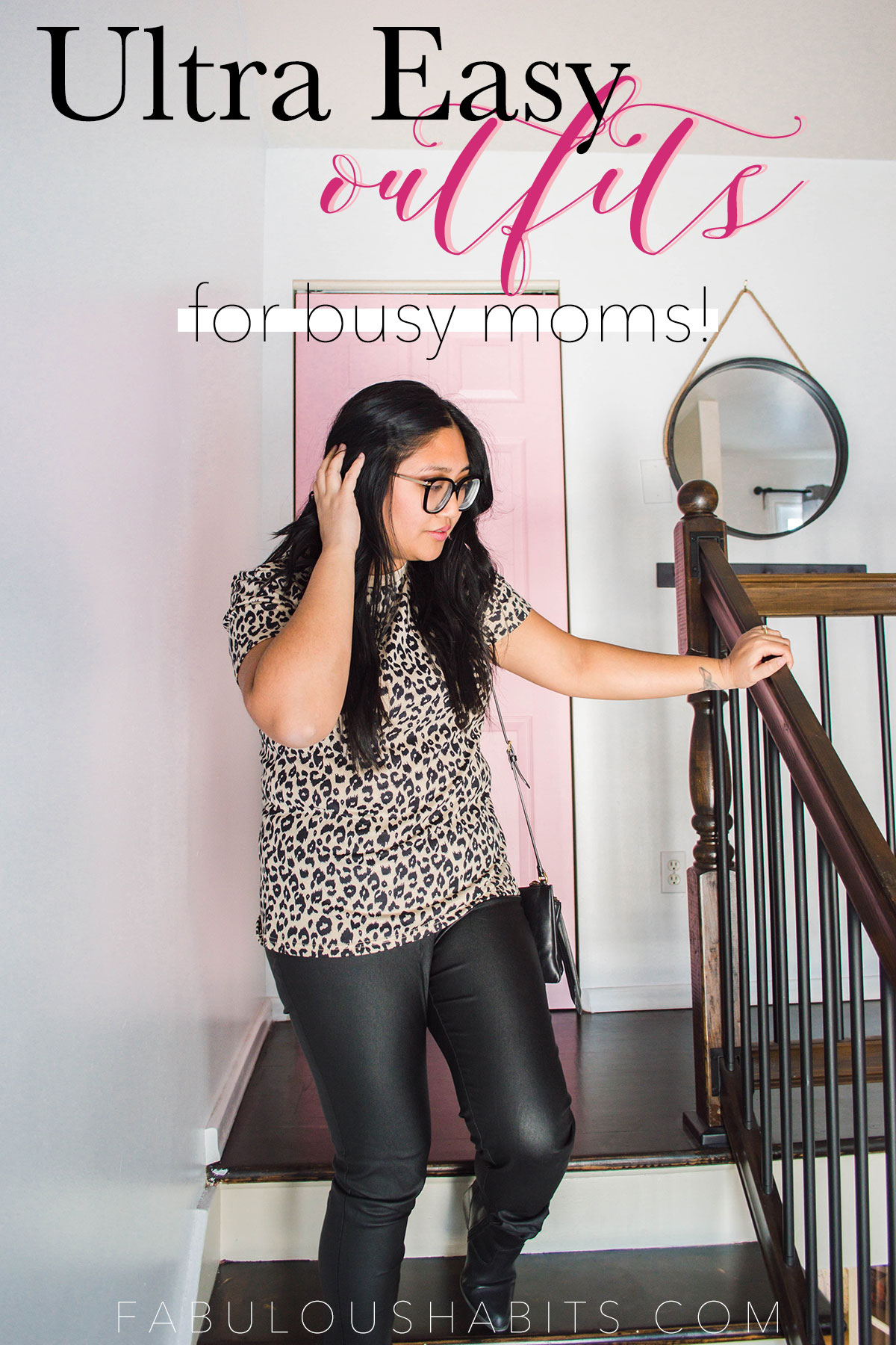 Who knew that a simple leopard print shirt could go such a long way? Today, I put together 4 fun outfits using the same t-shirt - get ready for some style inspo! #leopardprintshirt