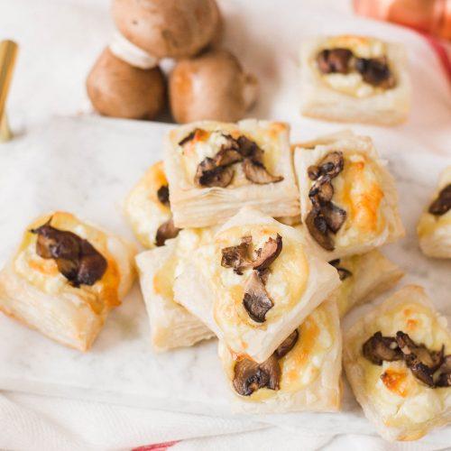 Mushroom Puff Pastry Appetizer