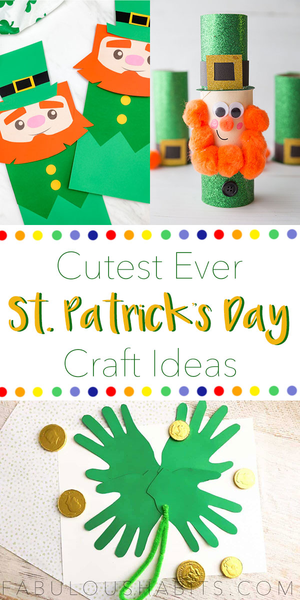 5 of the cutest St. Patrick's Day crafts that are perfect to make with your kiddos! #stpattysdayactivities