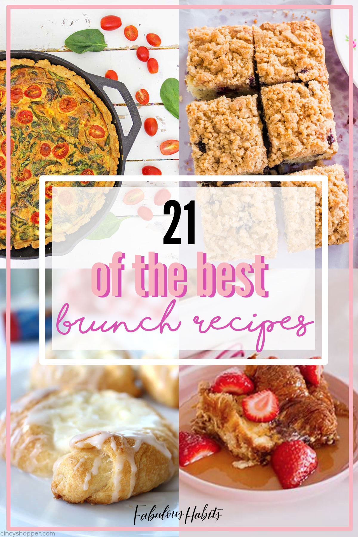 We rounded up 21 brunch ideas to serve up for your Mother's Day celebration this year #brunchrecipes