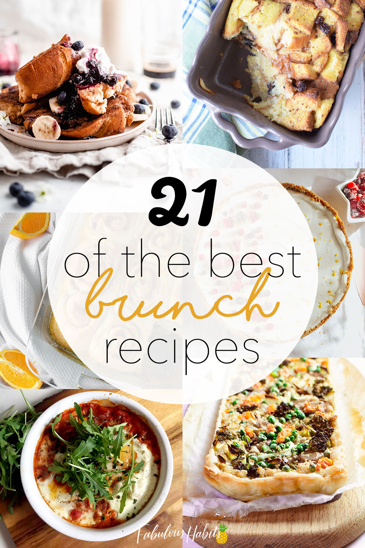 I mean, because who ISN'T into brunch? These 21 incredible brunch recipes are delicious and easy to make from your own kitchen! #brunchrecipeideas