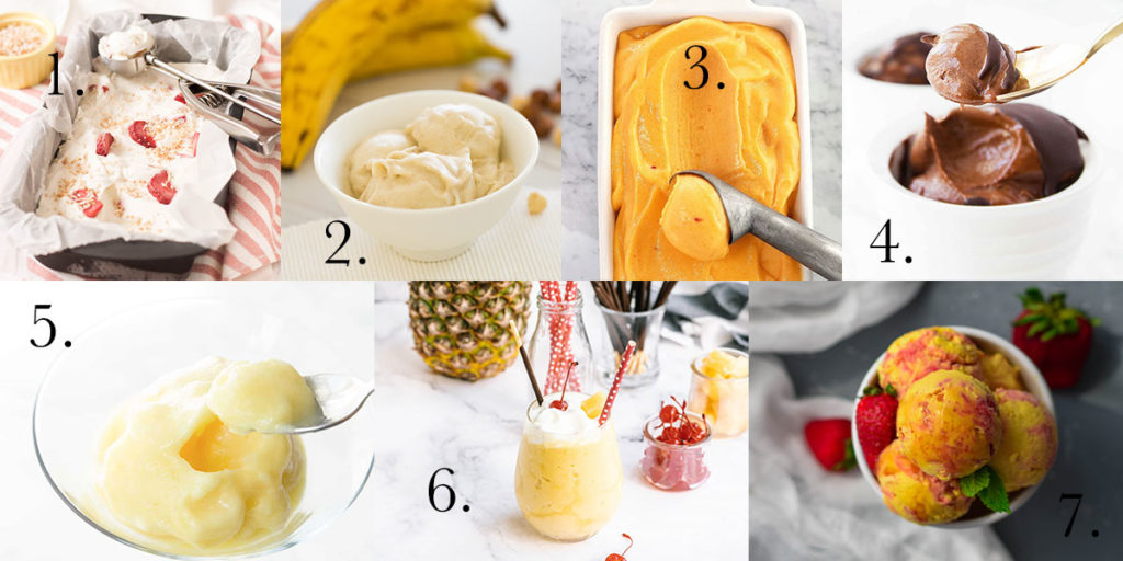 Need some cooling off? I've gathered some of the best no-churn ice cream recipes so you could make them at home! #nochurnicecream