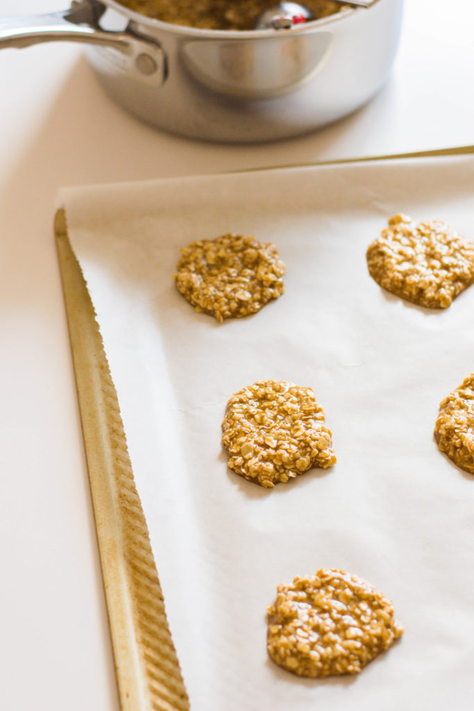 Oatmeal lace cookies are buttery, delicate, and full of delicious flavour. They require only 7 ingredients are incredibly easy to make.