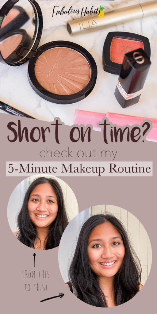 Short on time? Then you just HAVE to check out my 5-minute makeup routine - perfect for the busy mom!