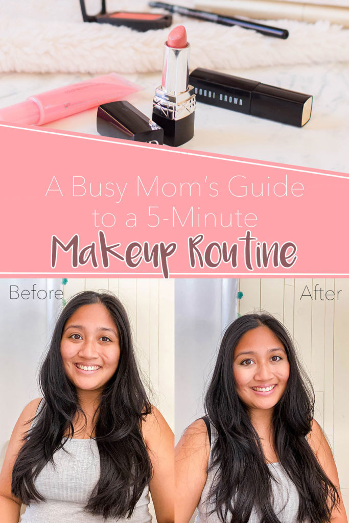 Always find yourself short on time? My 5-minute makeup routine is foolproof. Check out how to feel prepped, ready and confident to kickstart your work day.