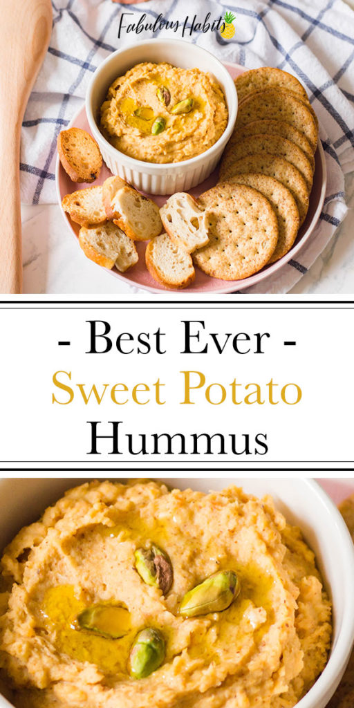 Sweet Potato Hummus: This is the best ever sweet potato hummus recipe that you'll ever try. Give it a go because it's SO easy to whip-up!