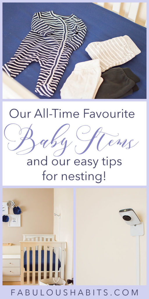 Here's our all-time favourite baby items for nesting... it's time to prep for baby's arrival!