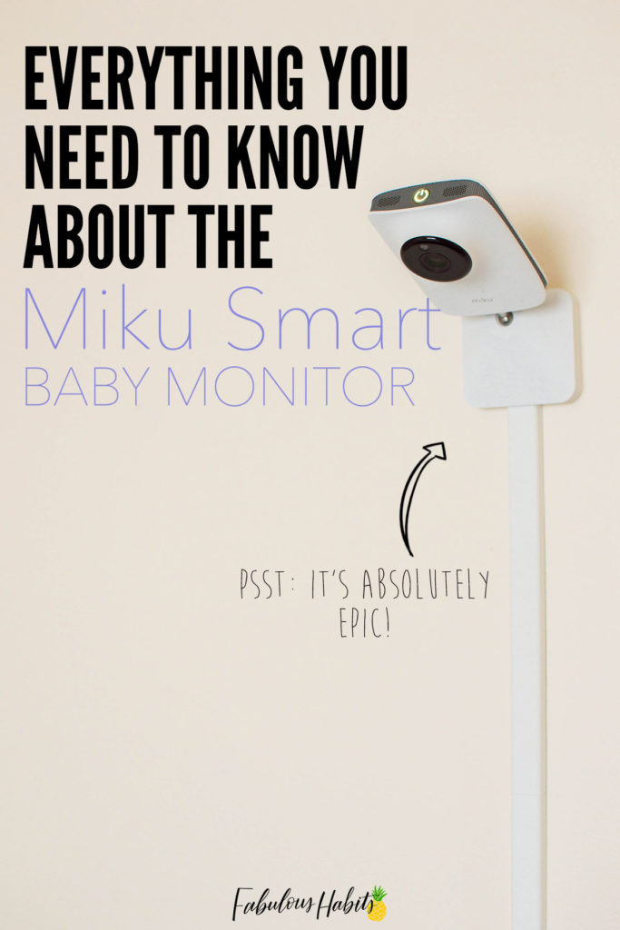 The Miku Smart Baby Monitor is incredibly impressive. Check out the full specs and details!
